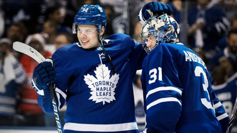 Helping the Toronto Maple Leafs return to play